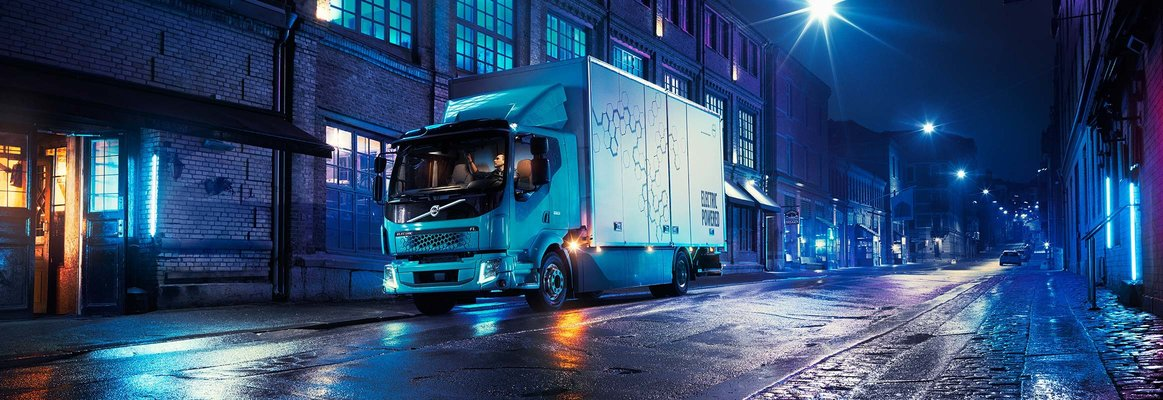 Volvo FL Electric för stadstransporter.
