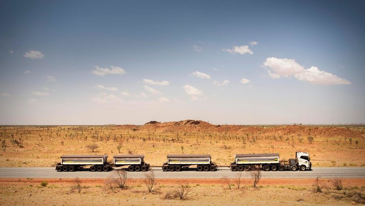 Driver's World: Australiens outback.