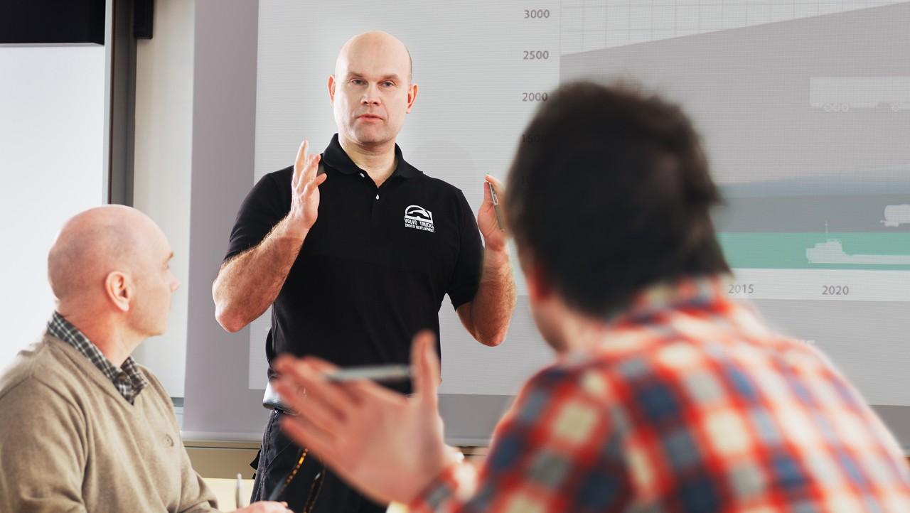 Volvo trucks training overview classroom