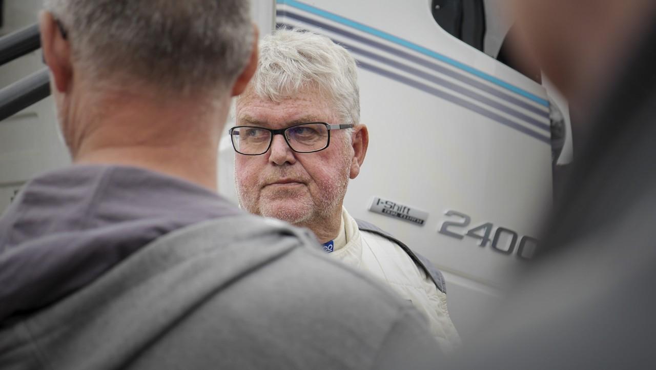 Boije Ovebrink, ordförande i FH16-klubben.