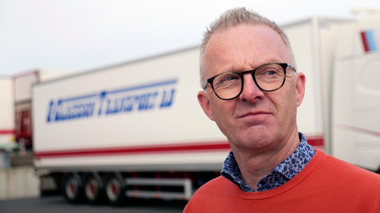 Christer Claesson vill driva ett hållbart åkeri.