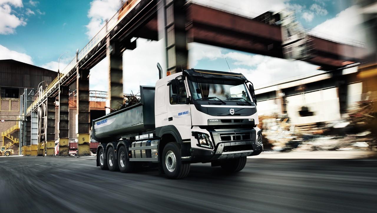 Upplev kvaliteten hos en hyrlastbil från Volvo