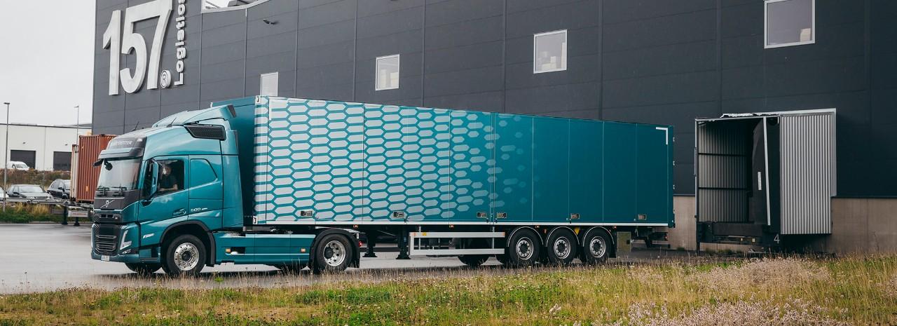 Volvo på väg reportage om åkeriet Uppdraget